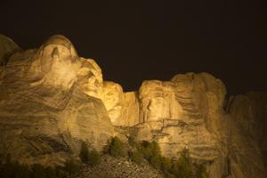 Mount Rushmore Light Show