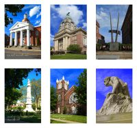 Package of 6 Home Town Note Cards featuring Painesville, Ohio.